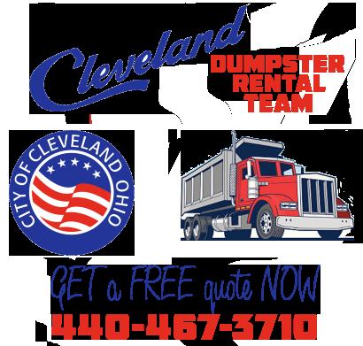Cleveland dumpster rental service